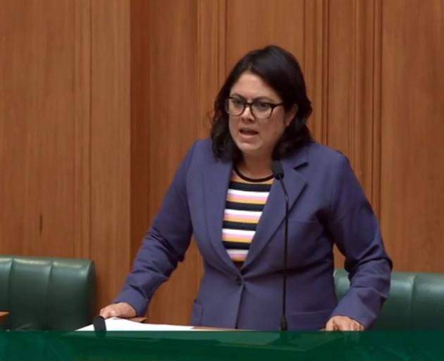 Ayesha Verrall speaks in Tuesday's urgent debate on Covid-