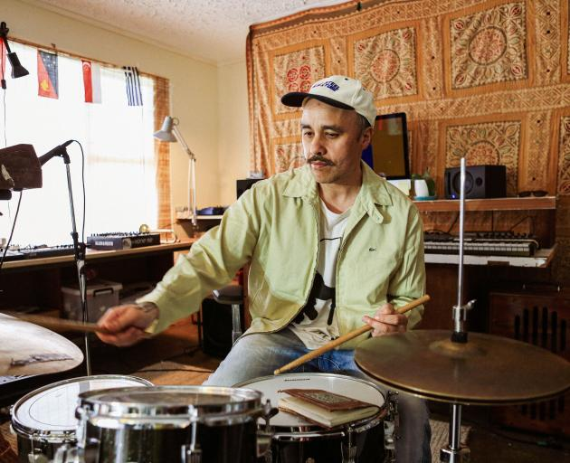 Riki Gooch discovered the drums growing up in Dunedin. PHOTO: CELESTE FONTEIN