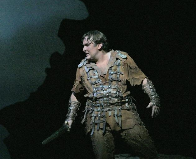 Simon O'Neill as Siegmund in Die Walkure at the Metropolitan Opera,  New York. Photo: supplied