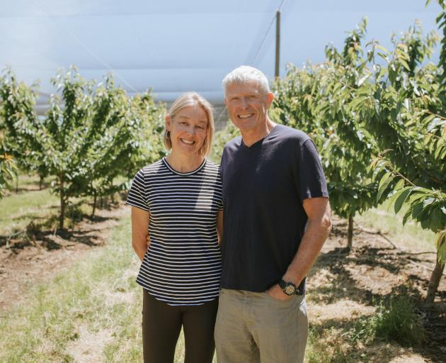 Ardgour Station owners Bruce and Linda Jolly are growing cherries and new varieties of apricots...