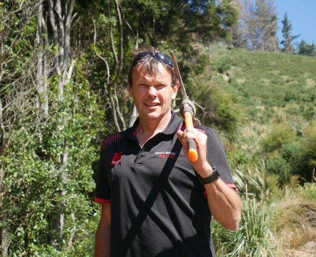 Mike Croucher is the man behind most of the Signal Hill tracks. PHOTO: JESSICA WILSON