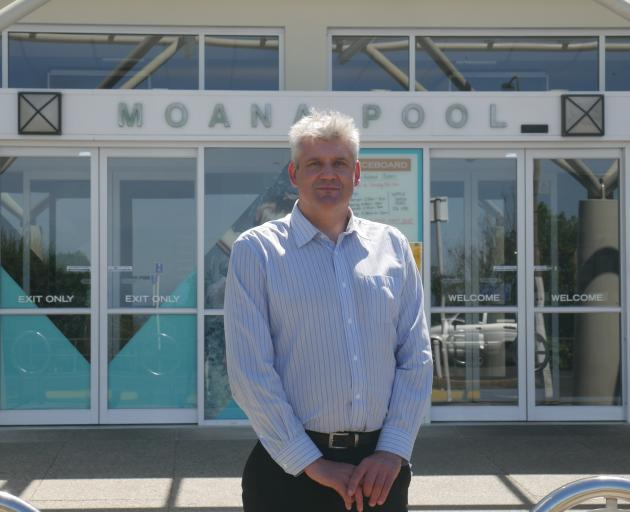 Dunedin father Jason Bauchop is worried Moana Pool's entry fees are discouraging people from...