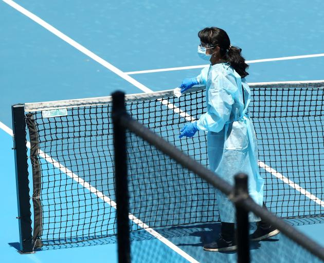 The first Grand Slam of the year at Melbourne Park is due to start on February 8. Photo: Reuters