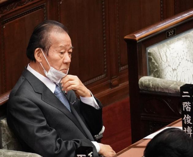 Liberal Democratic Party Secretary-General Toshihiro Nikai. Photo: Getty Images
