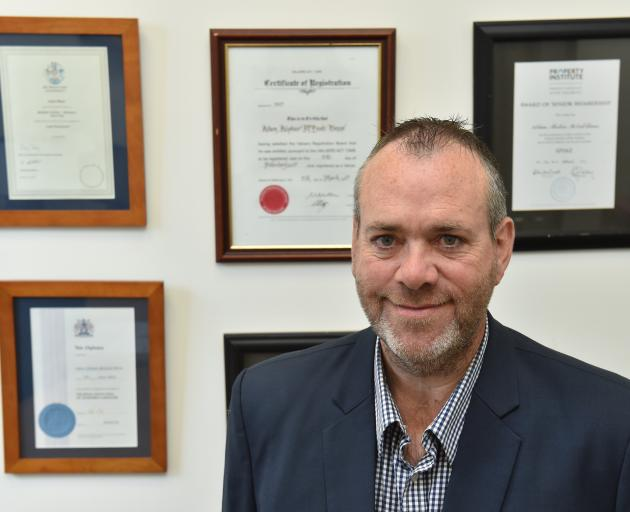 New Zealand Institute of Valuers Council president-elect Adam Binns has been in the property...