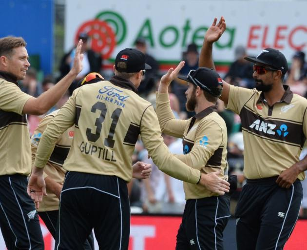 The Black Caps will play their remaining games behind closed doors. Photo: Getty Images
