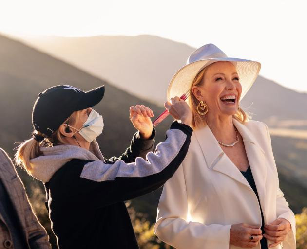 Rebecca Gibney gets ready for her role as Sydney socialite Daisy Munroe in romantic comedy Under...