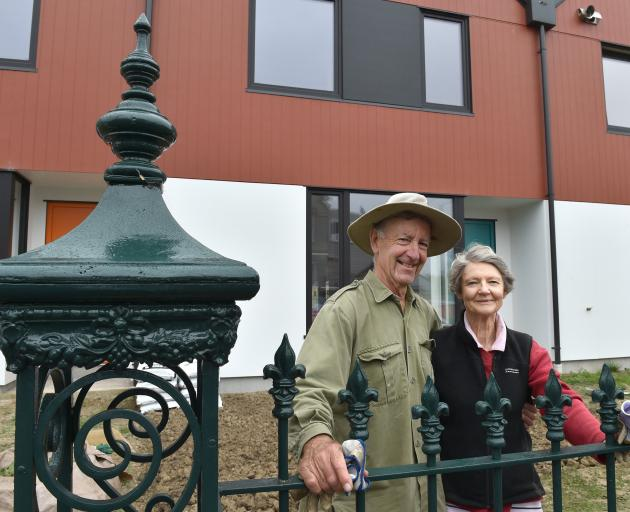 Sandy and Frances Ross are gearing up to move into their unit at Dunedin's Toi Ora High Street...