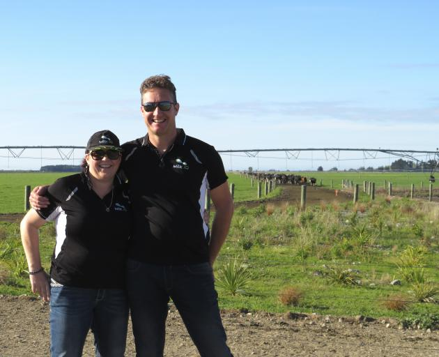 Brent and Rebecca Miller opened the farm gates of River Terrace Dairy Ltd farm to the public...