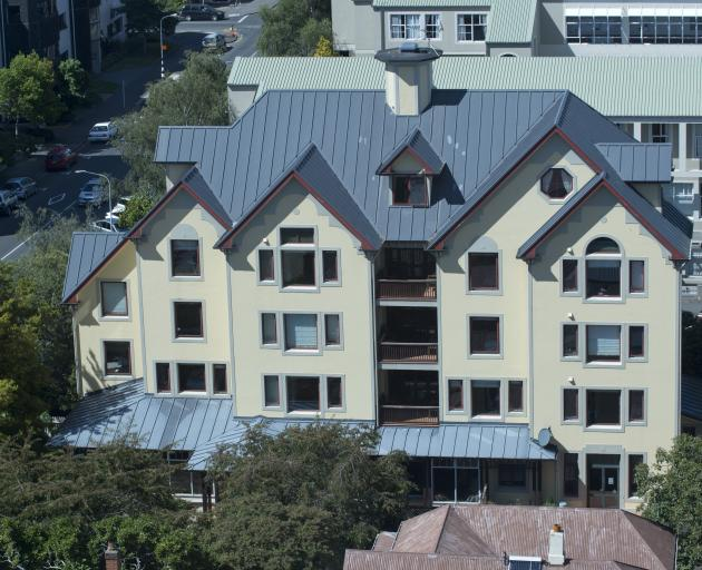 The University of Otago's boutique Executive Residence is now being used as student accommodation...