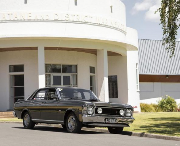 A 1970 Ford XW Falcon GT-HO Phase II, which sold at auction for $414,000 Photo: Supplied / Webb's