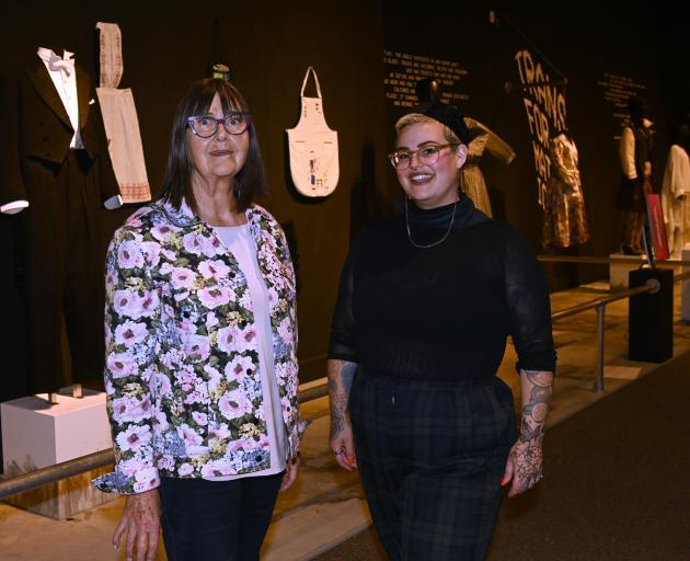 Otago Museum honorary curator dress collection and co-curator of ''Fashion FWD >> Disruption...