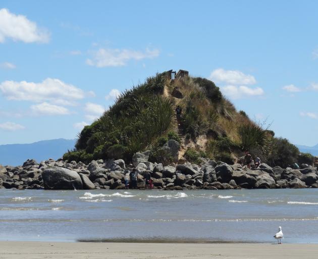 Monkey Island, at Te Waewae Bay. PHOTO: GETTY IMAGES