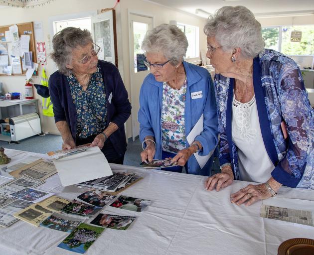 Joyce Walker, 85, of Akaroa, Rosemary Harper, 84, of Papanui, and Eleanor Gillespie, 84, of St...