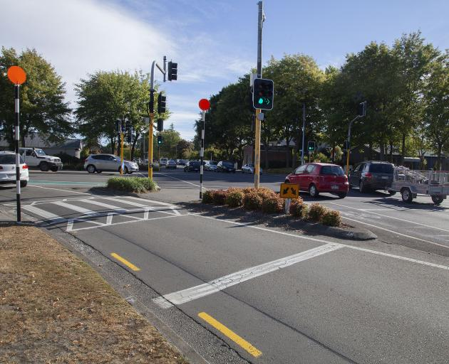 The Clyde Rd and Memorial Ave intersection. Photo: Geoff Sloan