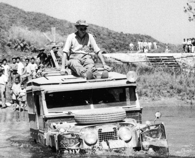 ''The Oxford'' Land Rover, the first vehicle of its type to be driven overland from London to...