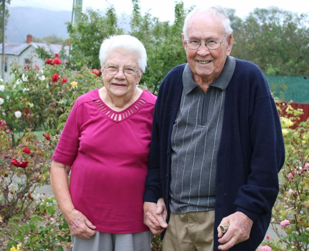 Hakataramea couple Rosemary and Ernie Gilchrist celebrate their 70th wedding anniversary today....