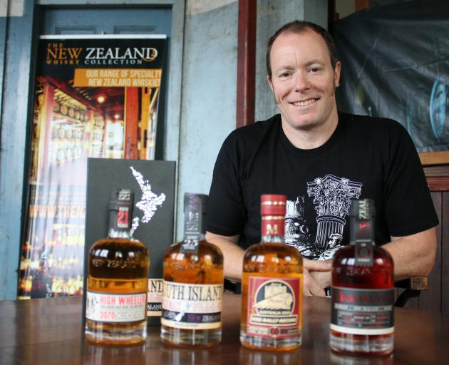 The New Zealand Whisky Collection general manager and head distiller Michael Byars will bring...