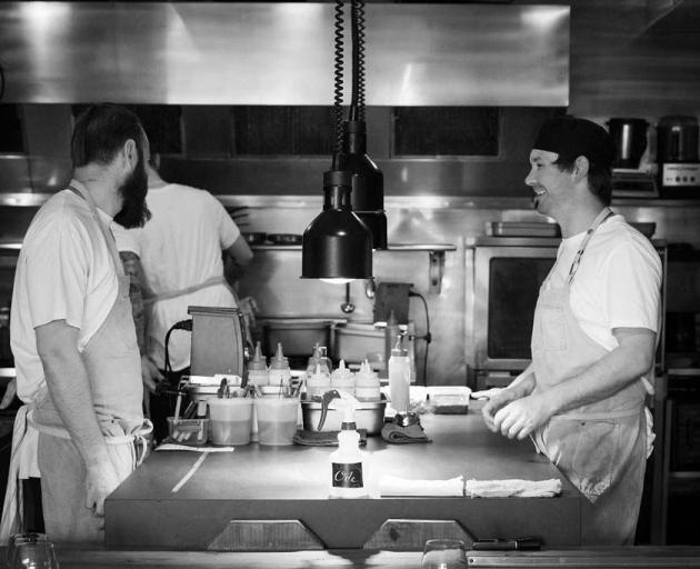 Ode executive chef Lucas Parkinson (left) and head chef Jack Foster. PHOTO: SUPPLIED
