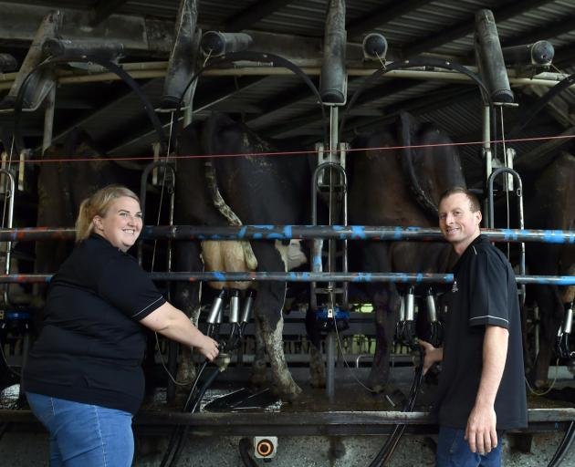 Ann Henderson: ''It's not just milking cows. Milking cows is the easy part now. It's everything...