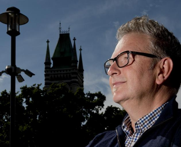 University of Otago deputy proctor Geoff Burns oversees the university's extensive network of...