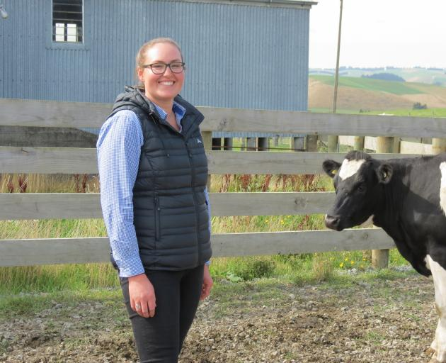 Calving is Brooke Flett's favourite time of year.PHOTO: SRL FILES