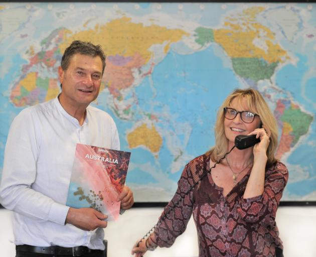 Dunedin travel brokers Vincent George and Rosann Connolly-George are poised to facilitate...