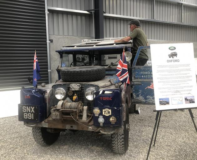 Rod Corbett takes care of ''the Oxford'' Land Rover, arguably the most famous Land Rover in the...