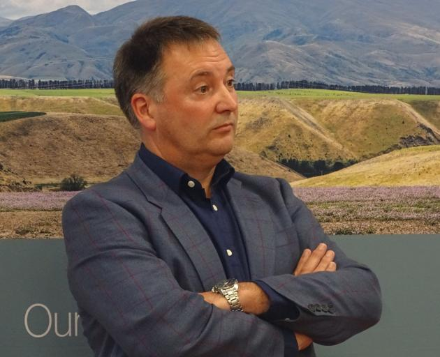 Tarras Airport project manager Michael Singleton (above) was among Christchurch Airport...