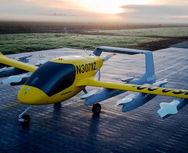 Wisk's air taxi will be on public display in New Zealand for the first time at Take Charge...