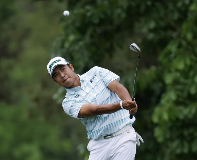 Hideki Matsuyama had a dream round at the famous Augusta National. Photo: Reuters