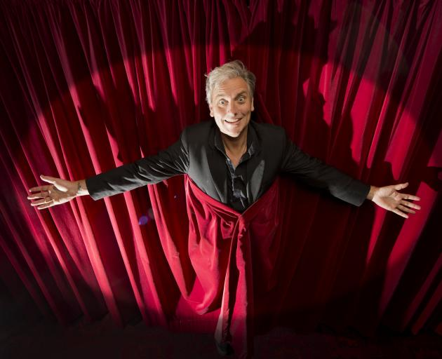 Dunedin Arts Festival director Charlie Unwin is ready to raise the curtain on this year's...