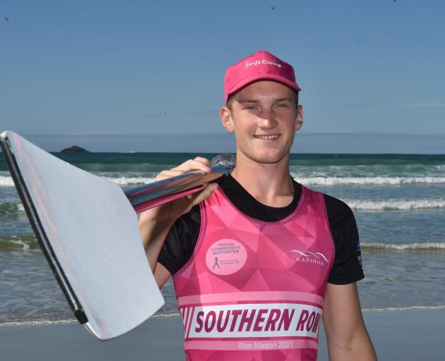 After several postponements, Dunedin rower Ben Mason is now aiming to start his marathon...