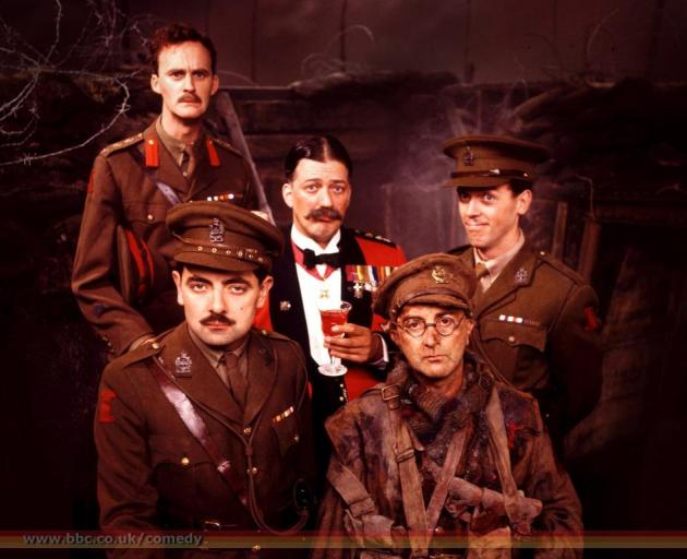 Elton was behind many of the best lines of classic '80s comedies Blackadder (above) and The Young...