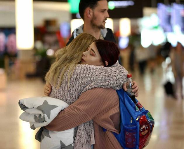 Christchurch International departures. Photo: George Heard