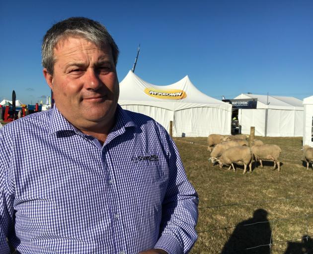 Kirwee farmer Matt Jones milks 600 sheep. PHOTO: DAVID HILL