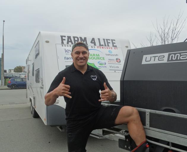 Farm4Life creator Tangaroa Walker has been travelling around New Zealand promoting his book....