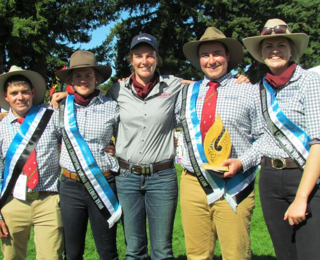 The New Zealand Hereford Youth team won the young breeders' competition at the World Hereford...