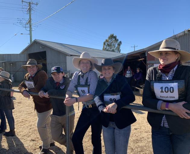 New Zealand Hereford Youth members attended the Herefords Australia Youth Heifer Show in Parkes,...