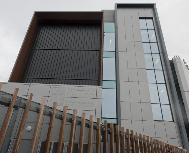 The Eccles Building, the University of Otago's  new, $50 million, animal research facility. PHOTO...