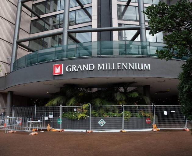 The Grand Millenium Hotel in the Auckland CBD. Photo: NZ Herald