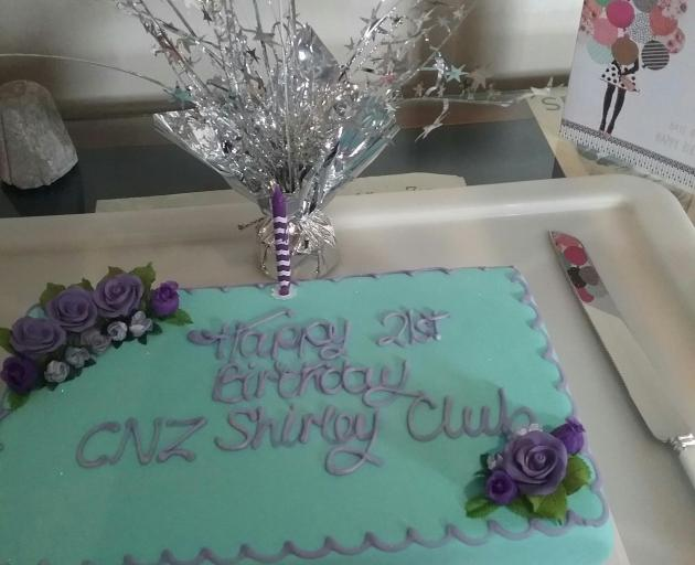 The Canterbury Shirley Club celebrate their 21st anniversary. Photo: Supplied