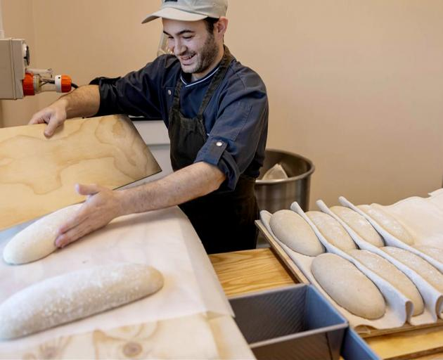 Ma Petite Bakery in Rolleston is operated by Frenchman Thomas Holleaux. Photo: Supplied