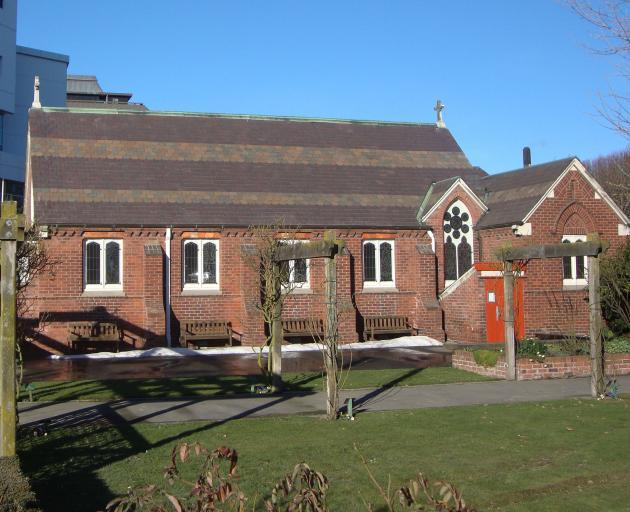 The Nurses' Memorial Chapel at Christchurch Hospital. Photo: Supplied