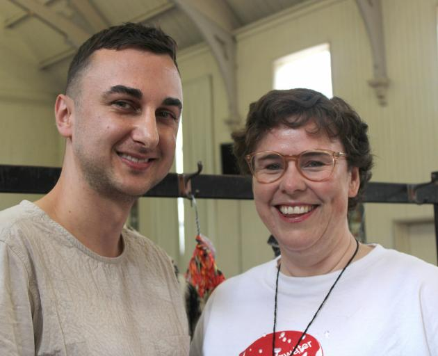 Kitan Petkovski and Ro Bright. Photo: Supplied