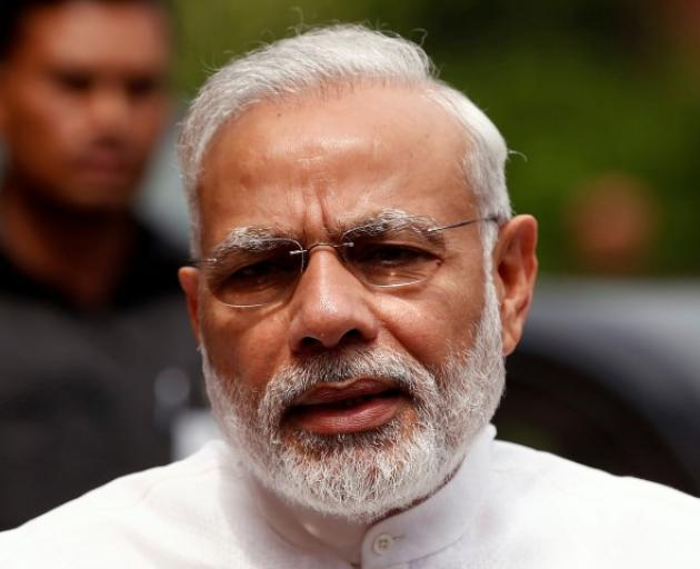 Indian Prime Minister Narendra Modi. Photo Reuters
