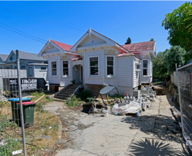 David Hart was the past owner of this Marlborough St, Mt Eden villa in Auckland, where human...