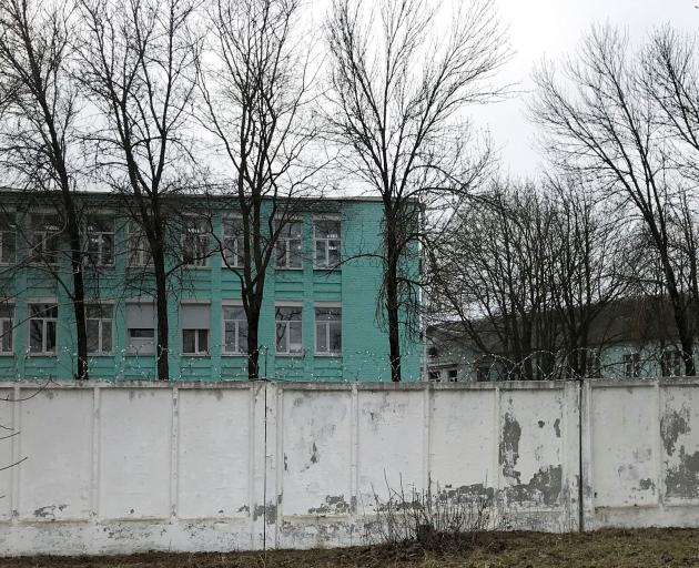 The IK-3 penal colony in Vladimir, which houses a hospital where jailed Kremlin critic Alexei...