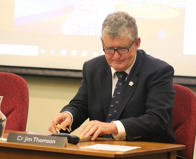 New Waihemo ward councillor Jim Thomson was sworn in at an extraordinary council meeting...