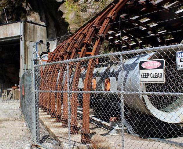 Just two workers managed to escape after an explosion rocked the mine eight years ago. Photo: ODT...